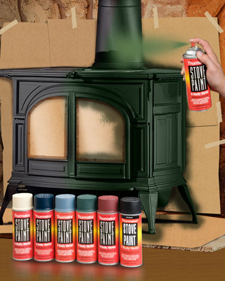 High Temperature Wood Stove Paint